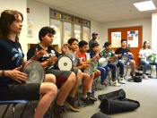 Camp 2017 - Drumming with Hafez