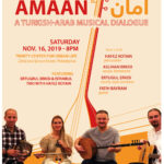 Amaan! A Turkish-Arab Musical Dialogue @ Trinity Center for Urban Life